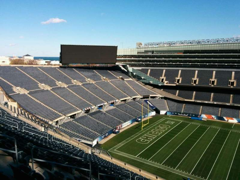 Seating view for Soldier Field Section 438 Row 19 Seat 10