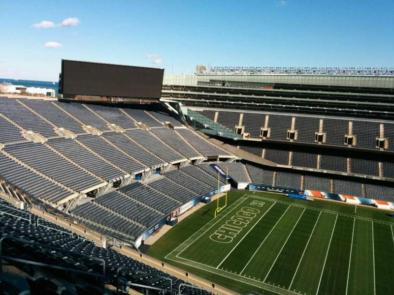 Seating view for Soldier Field Section 439 Row 19 Seat 10