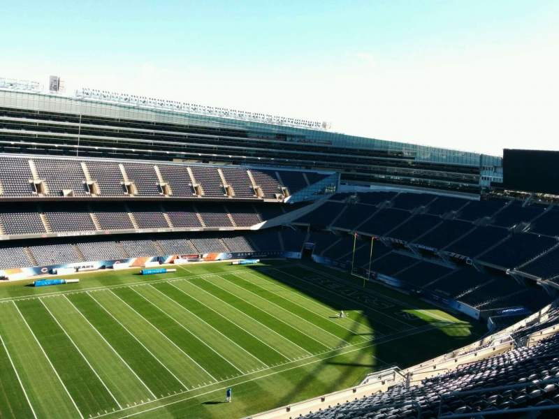 Seating view for Soldier Field Section 440 Row 19 Seat 10