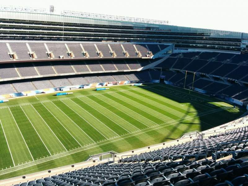 Seating view for Soldier Field Section 441 Row 19 Seat 10