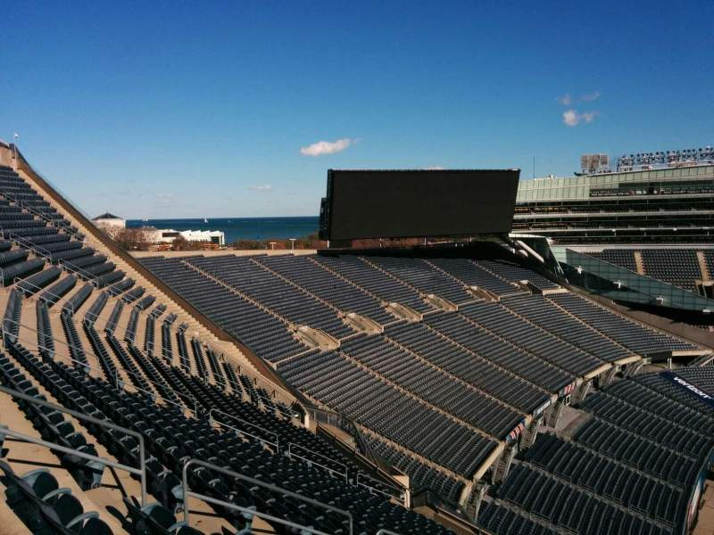 Seating view for Soldier Field Section 442 Row 19 Seat 11