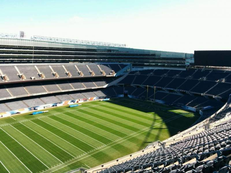 Seating view for Soldier Field Section 441 Row 19 Seat 11