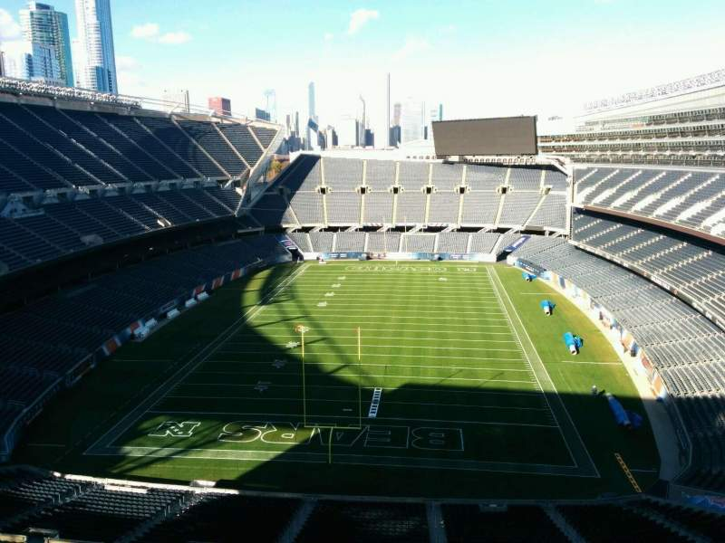 Seating view for Soldier Field Section Suite B44