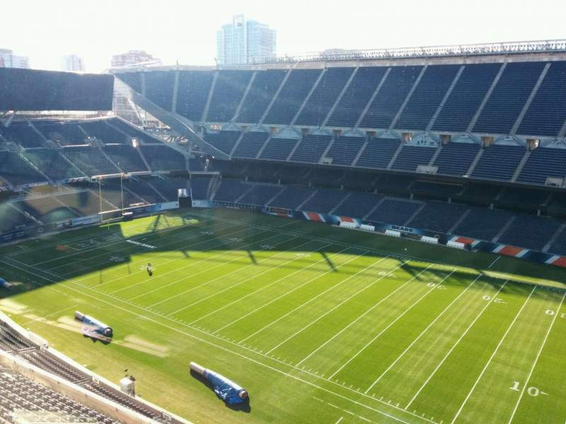 Seating view for Soldier Field Section Suite B21