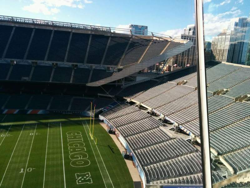 Seating view for Soldier Field Section Suite B12