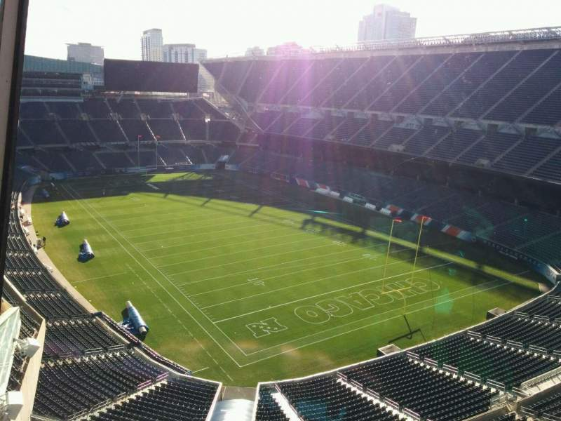 Seating view for Soldier Field Section Suite B1