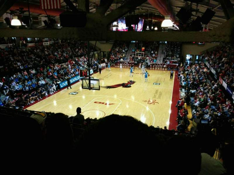 Seating view for Hagan Arena Section 216 Row 11 Seat 10