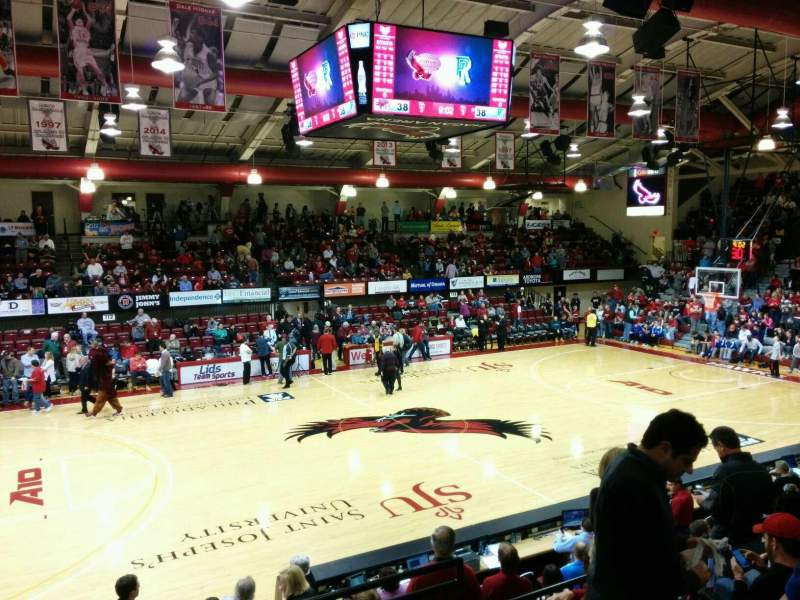 Seating view for Hagan Arena Section 205 Row 6 Seat 3