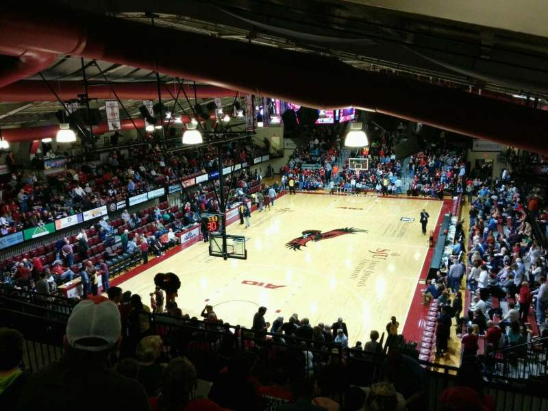 Seating view for Hagan Arena Section 207 Row 11 Seat 3
