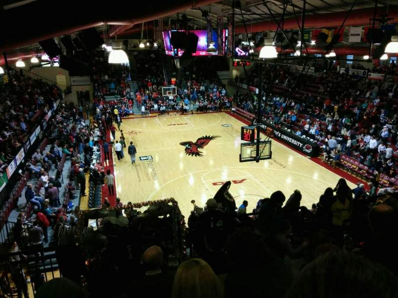 Seating view for Hagan Arena Section 209 Row 9 Seat 6