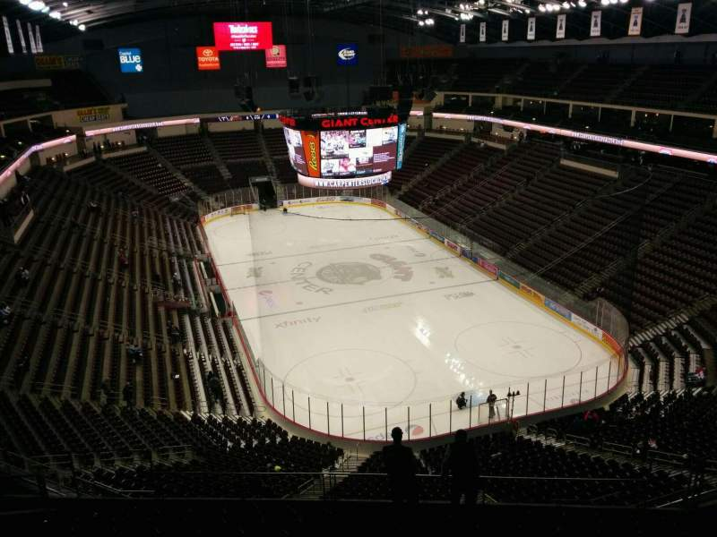 Seating view for Giant Center Section 225 Row l Seat 4