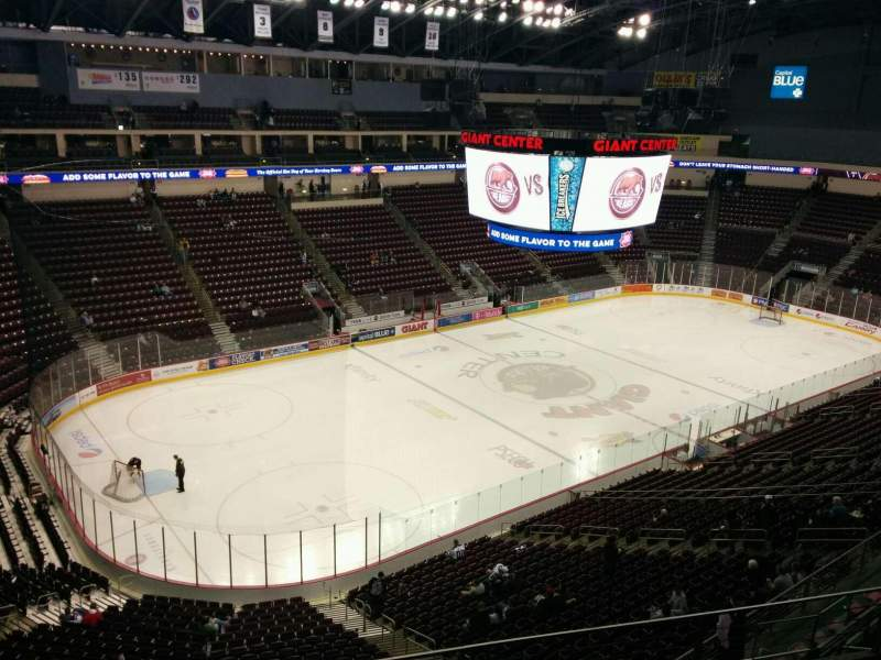 Giant Center, section: 204, row: e, seat: 13