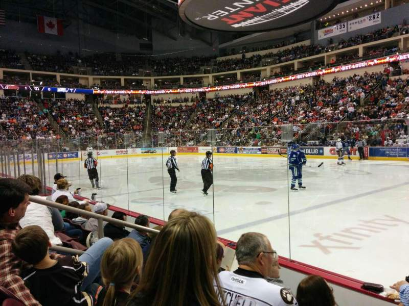 Seating view for Giant Center Section 108 Row d Seat 3