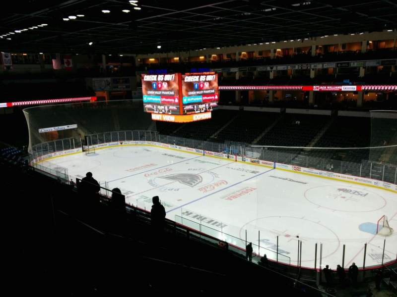 PPL Center, section: 201, row: 8, seat: 1