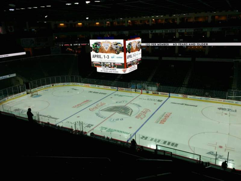 PPL Center, section: 202, row: 12, seat: 16
