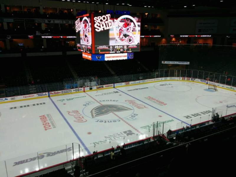 Seating view for PPL Center Section 205 Row 4 Seat 12