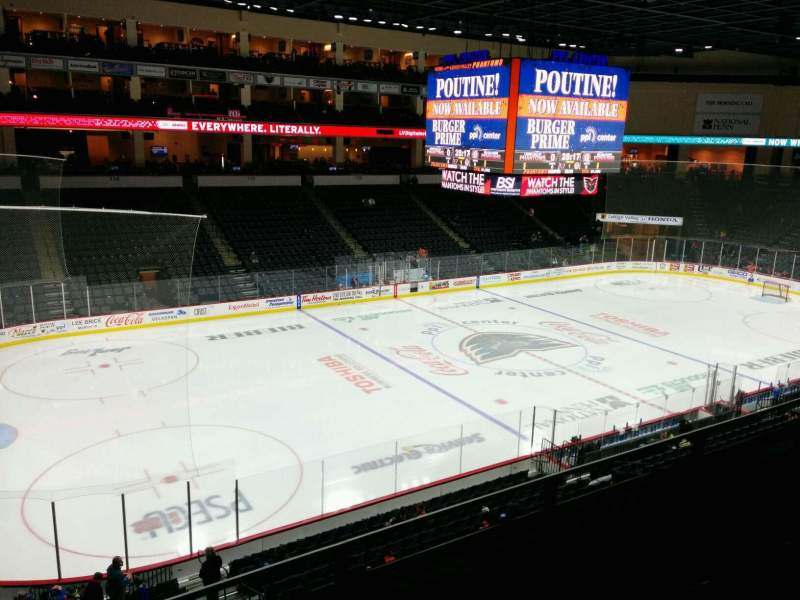 Seating view for PPL Center Section 206 Row 3 Seat 8