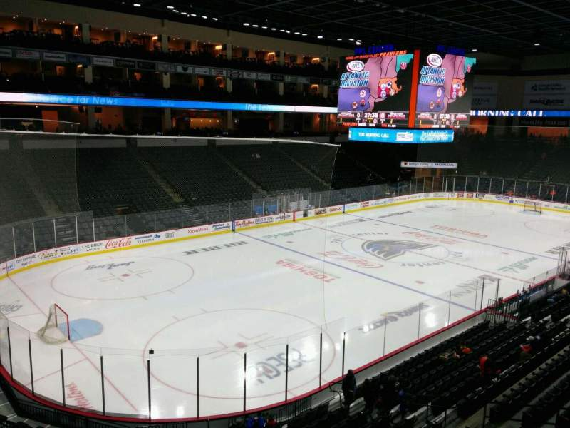 PPL Center, section: 207, row: 1, seat: 6
