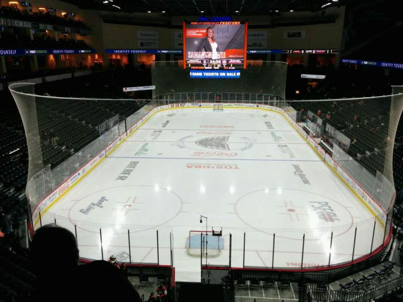 PPL Center, section: 210, row: 3, seat: 8