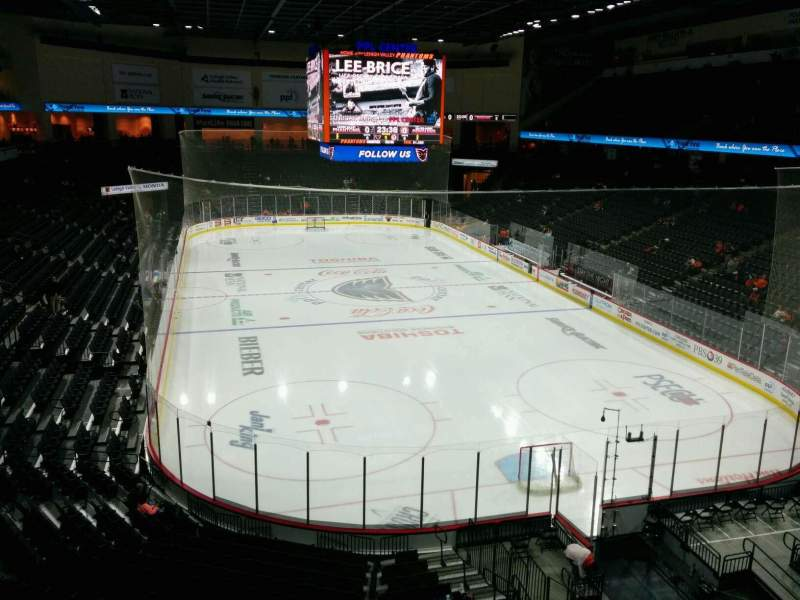 Seating view for PPL Center Section 211 Row 2 Seat 4