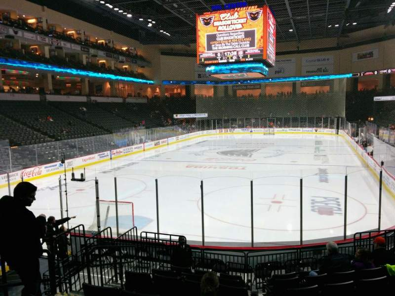 Seating view for PPL Center Section 109 Row 12 Seat 10