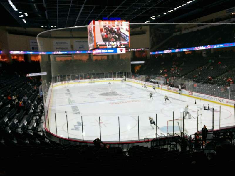 Seating view for PPL Center Section 111 Row 18 Seat 11