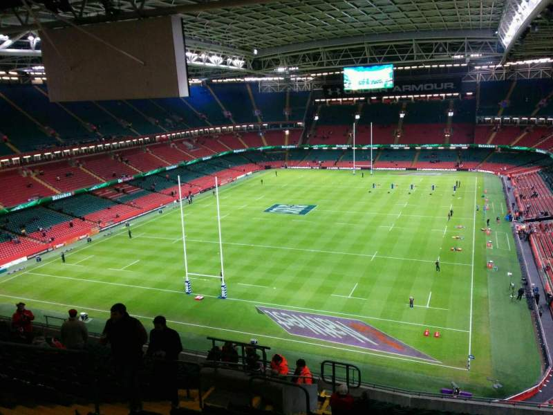 Seating view for Principality Stadium Section u17 Row 21 Seat 9