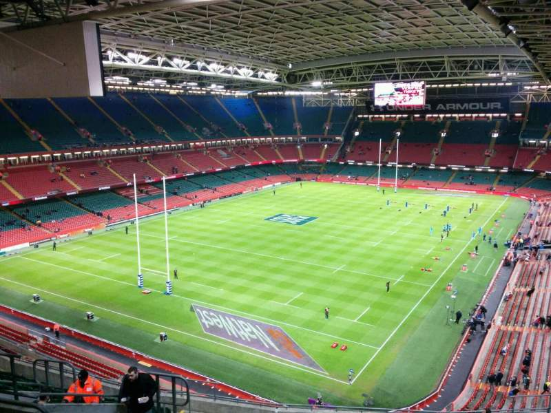 Seating view for Principality Stadium Section u16 Row 18 Seat 12