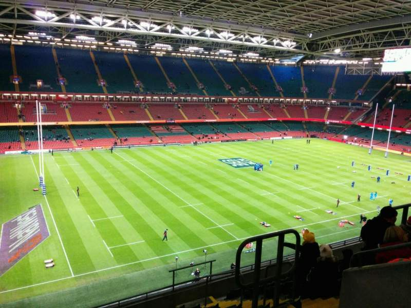 Seating view for Principality Stadium Section U13 Row 11 Seat 18