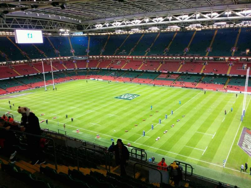 Seating view for Principality Stadium Section U5 Row 20 Seat 10