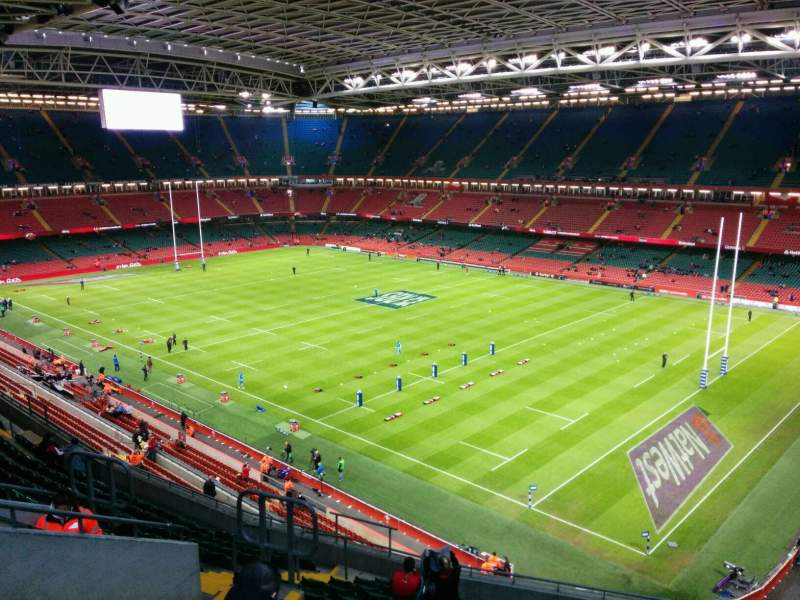 Seating view for Principality Stadium Section U4 Row 16 Seat 20