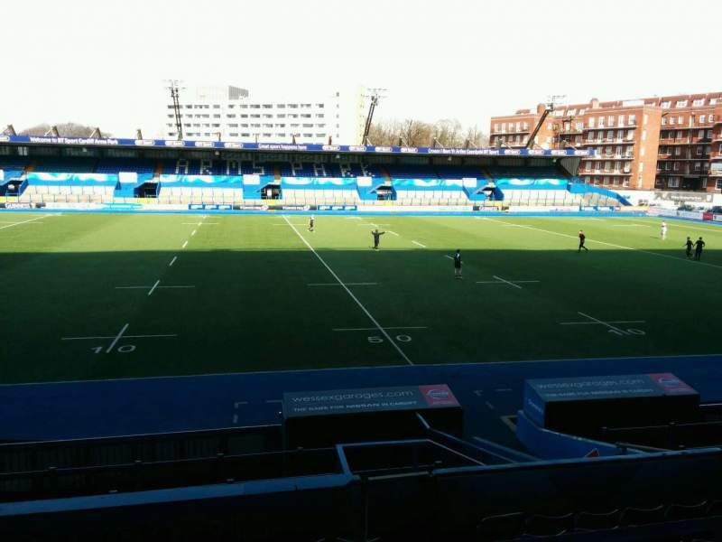 Seating view for Cardiff Arms Park Section 3 Row j Seat 30