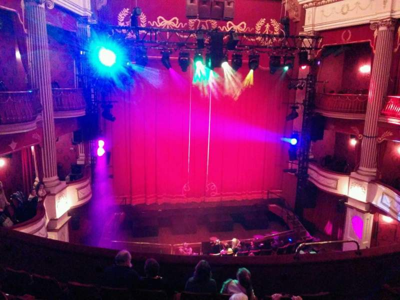 Seating view for New Theatre (Cardiff) Section Circle Row g Seat 11