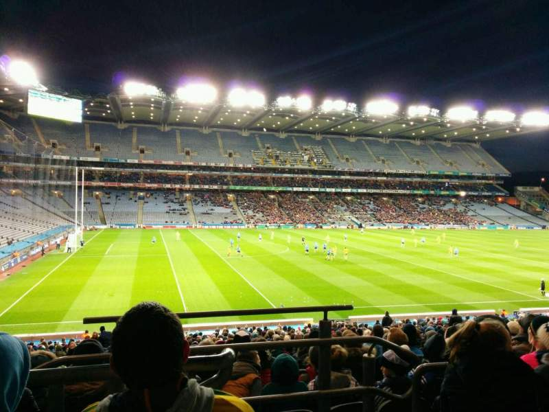 Seating view for Croke Park Section 310 Row pp Seat 15