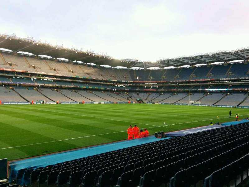 Seating view for Croke Park Section 335 Row r Seat 9