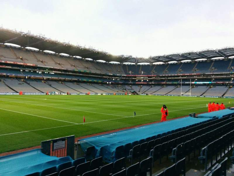 Seating view for Croke Park Section 336 Row k Seat 6