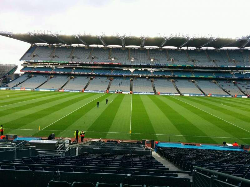 Seating view for Croke Park Section 331