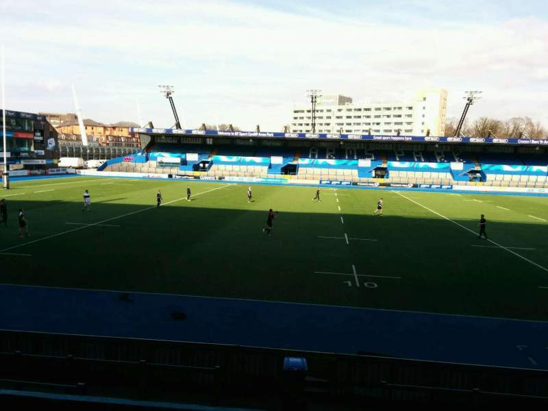 Seating view for Cardiff Arms Park Section 5 Row f Seat 6
