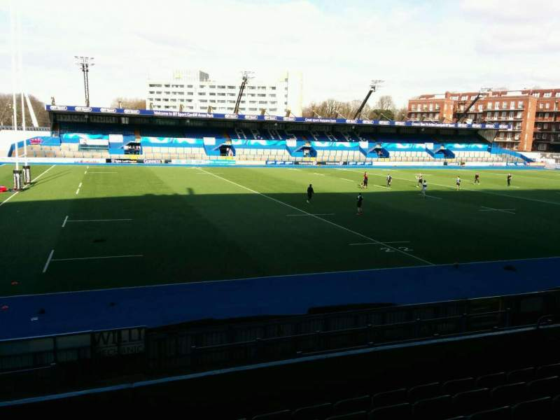 Seating view for Cardiff Arms Park Section 5 Row h Seat 32