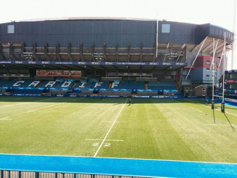 Seating view for Cardiff Arms Park Section 11 Row c Seat 39