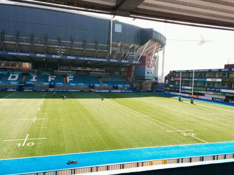 Seating view for Cardiff Arms Park Section 12 Row e Seat 29