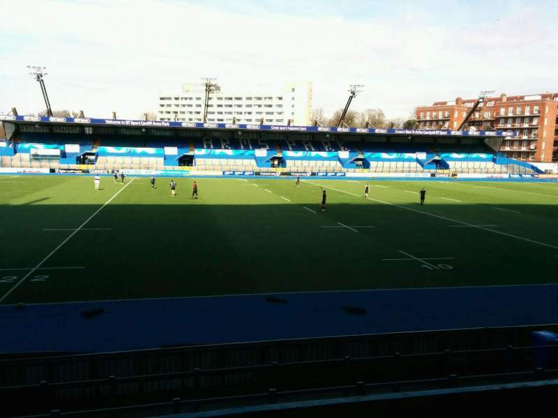 Seating view for Cardiff Arms Park Section 4 Row f Seat 28