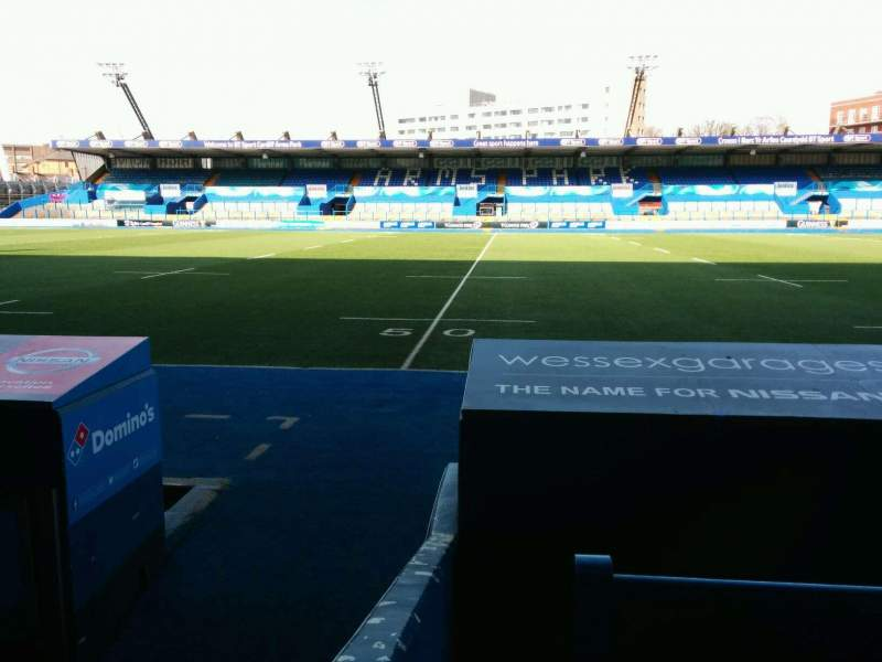 Seating view for Cardiff Arms Park Section Standing 3 Row GA