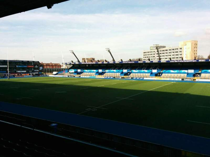 Seating view for Cardiff Arms Park Section 1 Row h Seat 15