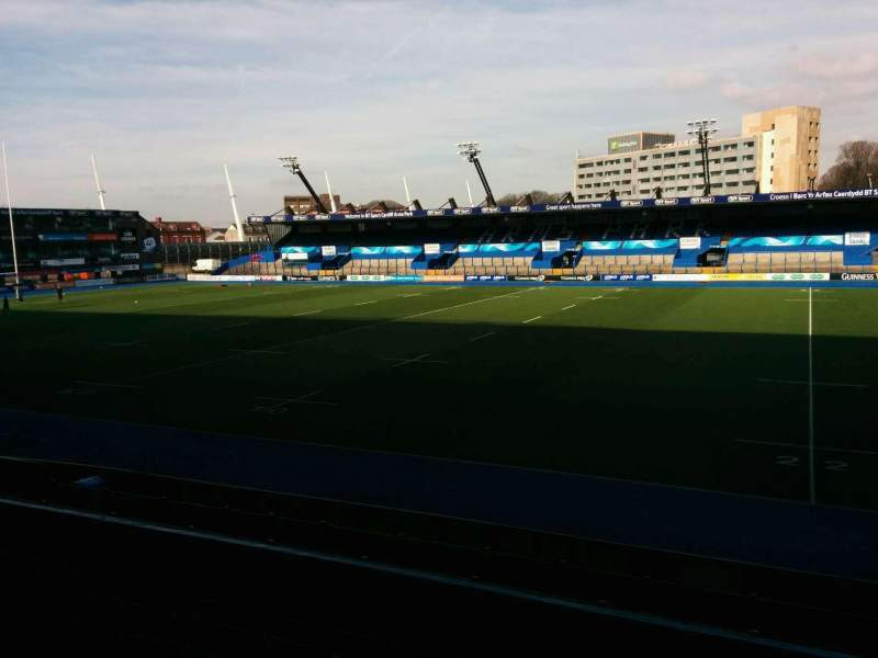 Seating view for Cardiff Arms Park Section 2 Row h Seat 45