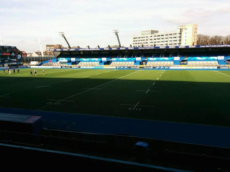 Seating view for Cardiff Arms Park Section 3 Row f Seat 27