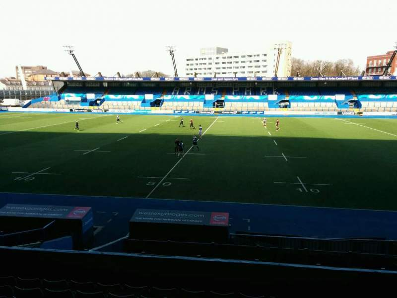 Seating view for Cardiff Arms Park Section 3 Row j Seat 8