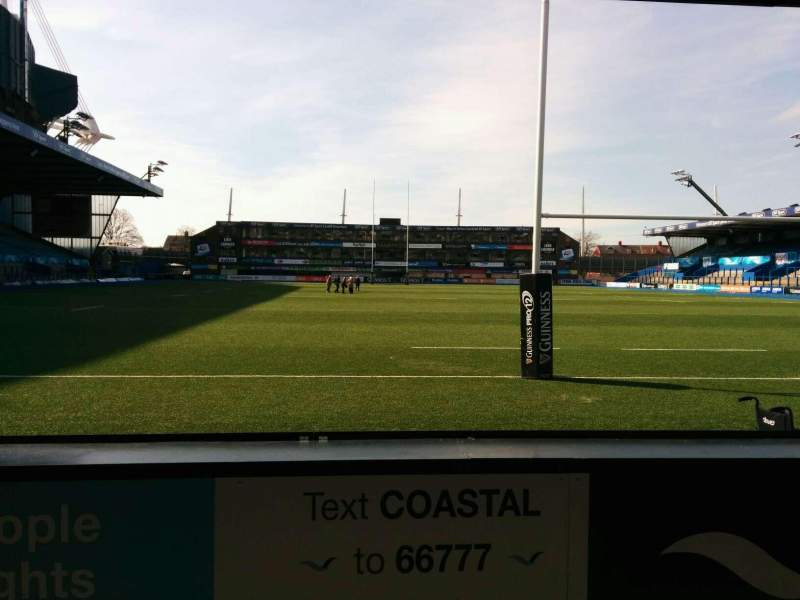 Seating view for Cardiff Arms Park Section 18 Row c Seat 6