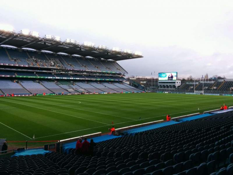 Seating view for Croke Park Section 311 Row cc Seat 11