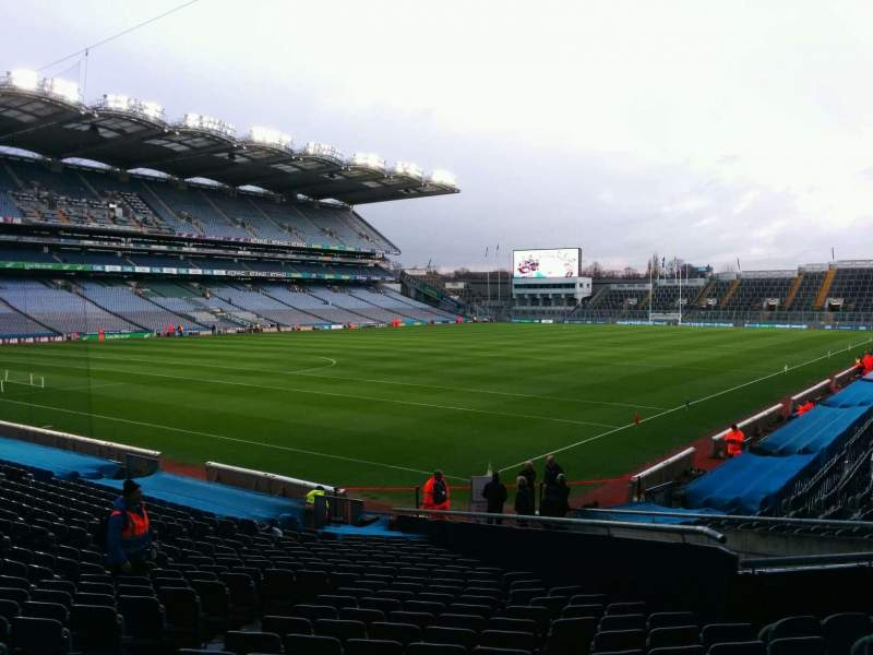 Seating view for Croke Park Section 314 Row z Seat 9